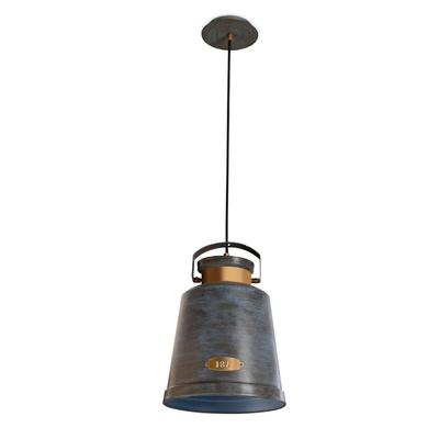Vintage Bell Old Grey Pendant